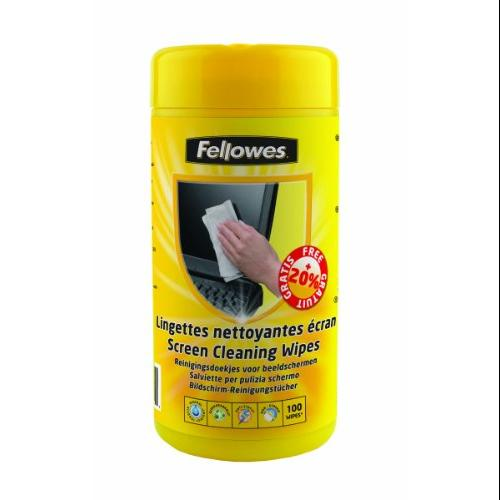 Fellowes Display Cleaning Kit - Cleaning Wipe (99703)
