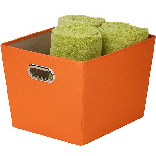 Honey-Can-Do Medium Decorative Storage Bin with Handles