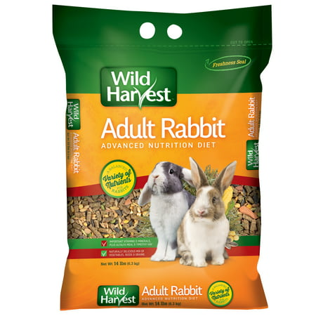 Bunny Food (Wild Harvest Advanced Nutrition Diet for Adult Rabbits, 14)