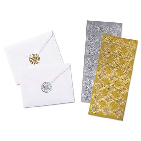 Quality Park Elegant Touch Foil Envelope Seals](Envelope Seals)