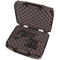"Flambeau 1511DDP Tactical Pistol Case Double Deep 15.25"" L x 11.5"" W x 4.8"" D Polymer Black"