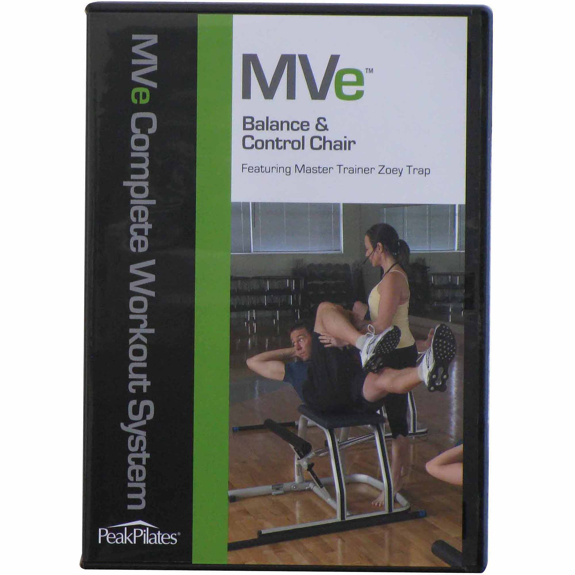 Peak Pilates MVe Balance and Control Chair Workout DVD