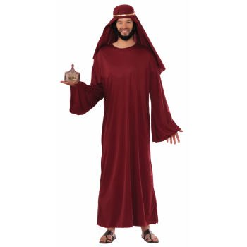 CO-WISE MAN-XL-BURGUNDY - Religious Costume