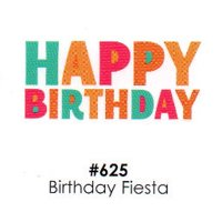 Birthday Fiesta Cake Decoration Edible Frosting Photo Sheet