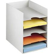 Horizontal Desktop Organizer in Gray