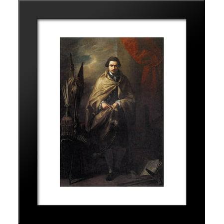 Sir Joseph Banks 20X24 Framed Art Print By Benjamin West