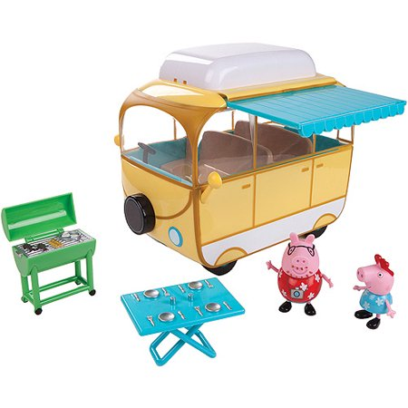 peppa pig family campervan play set with 2 figures - Inventory Checker