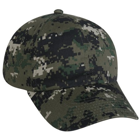 Outdoor Cap DC-660 Unstructured Digital Camo-Olive-Adult