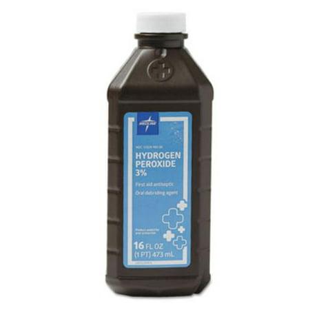 Medline MDS098001Z Hydrogen Peroxide, 16 Oz