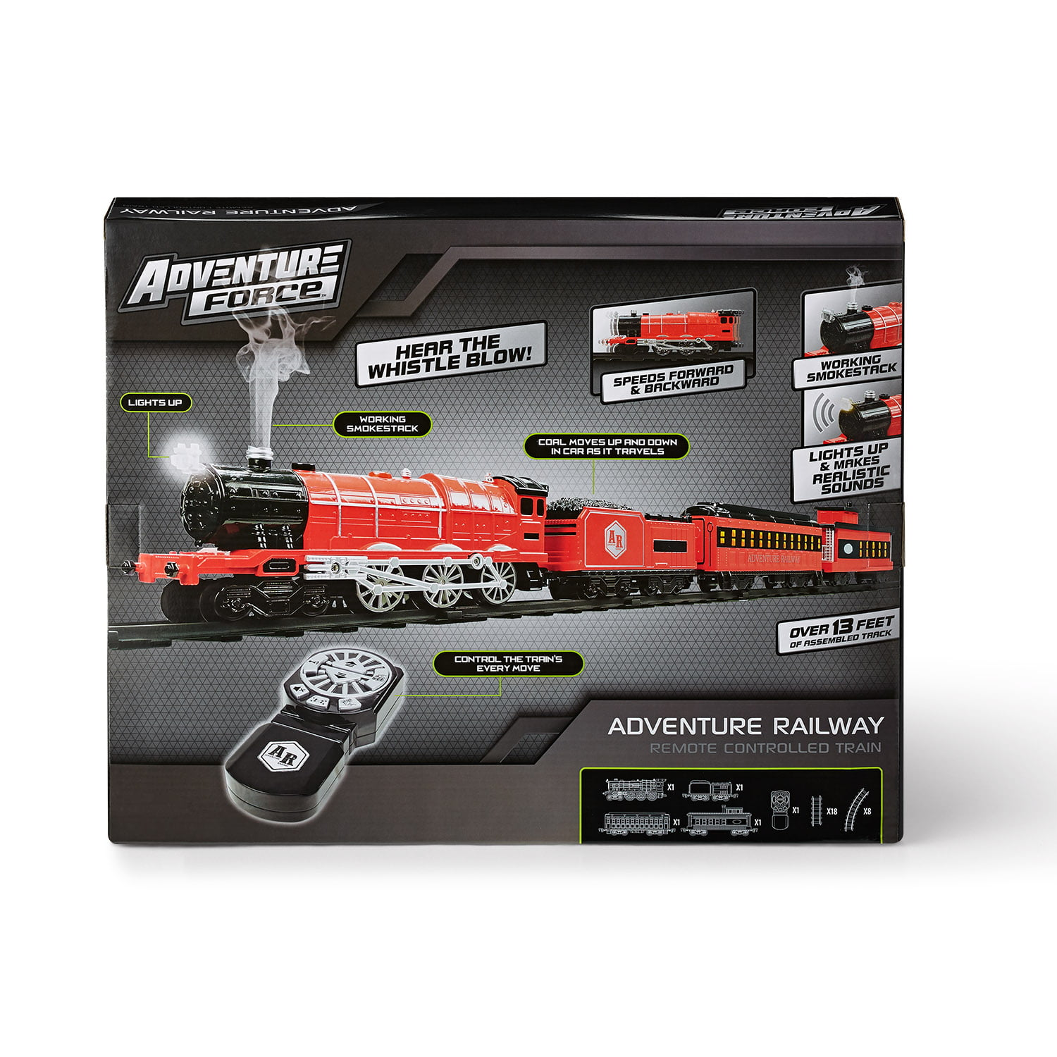 Power Train Track Pack Figure 8 set 17 pieces 8 foot of Track