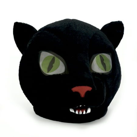 Maskimals Oversized Plush Halloween Mask - Panther (Disfraces Simples Halloween)