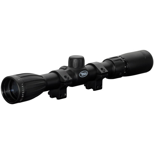 BSA Special Series 3-9x32mm Rifle Scope with 30 30 Duplex Reticle and 100-Yard Parallax Clam Pack by Gamo
