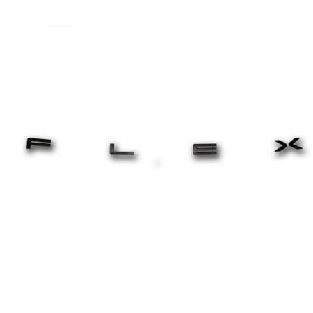 OEM Ford Flex Black Titanium Hood Letters Emblem BA8Z16606A