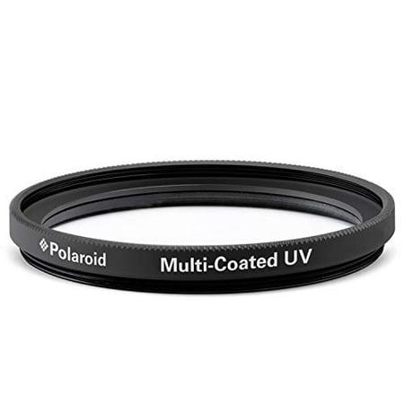 Polaroid Optics -58mm Multi-Coated UV & Protection Filter – Compatible w/ All Popular Camera Lens