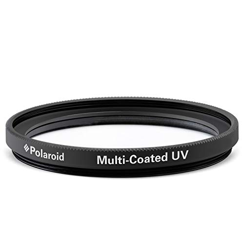 Polaroid Optics -58mm Multi-Coated UV & Protection Filter – Compatible w/ All Popular Camera Lens Models