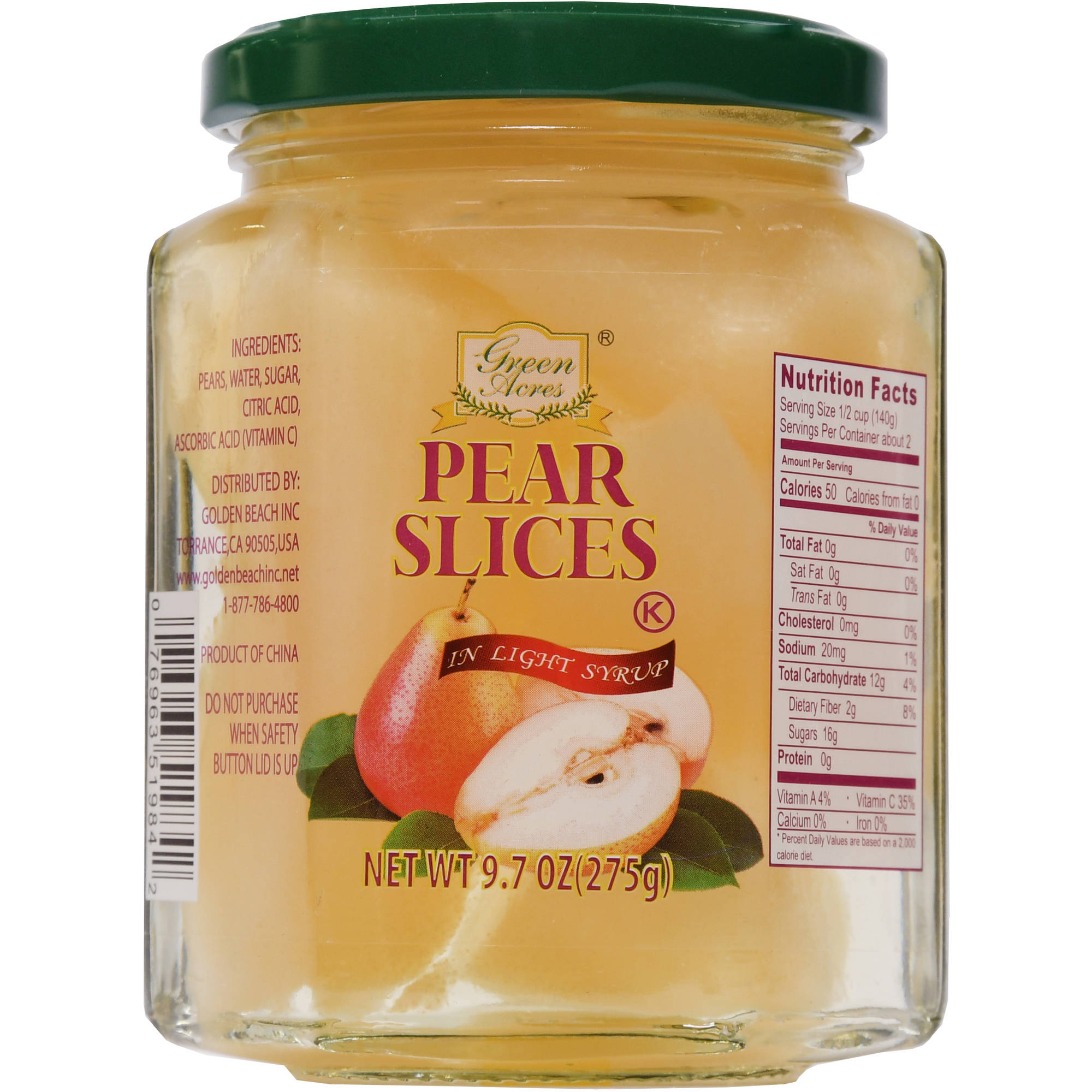 Pear Slices In Ls