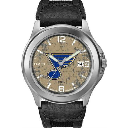 Men's Saint Louis Blues St Watch Timex Old School Vintage Watch Louis Blues Heart Watch