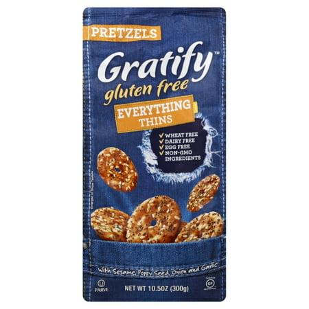 Gratify Everything Thins Gluten Free Pretzels, 10.5 OZ ...