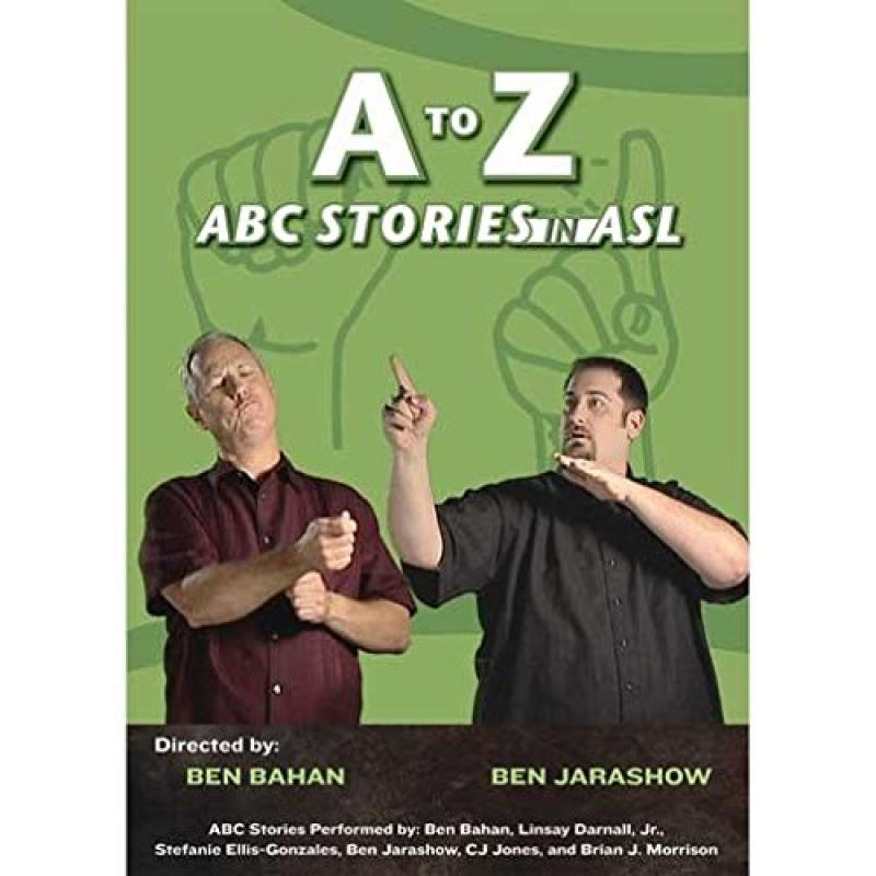 Harris Communications DVD376 A to Z - ABC Stories in ASL
