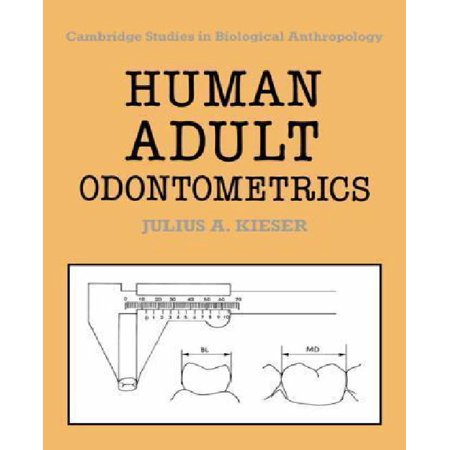 Human Adult Odontometrics: The Study of Variation in Adult Tooth Size](Halloween Evangelism Tracts)
