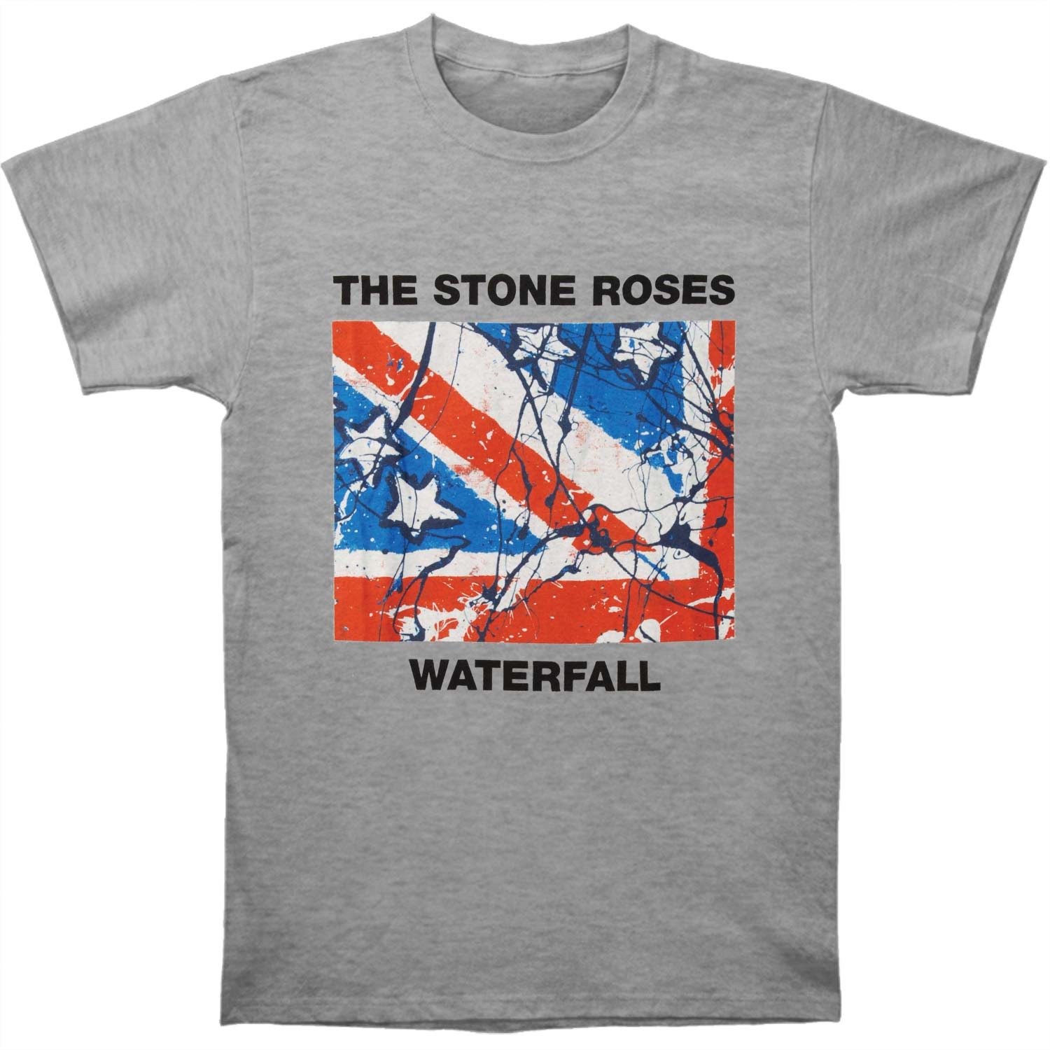 Stone Roses Men's  Waterfall T-shirt Grey