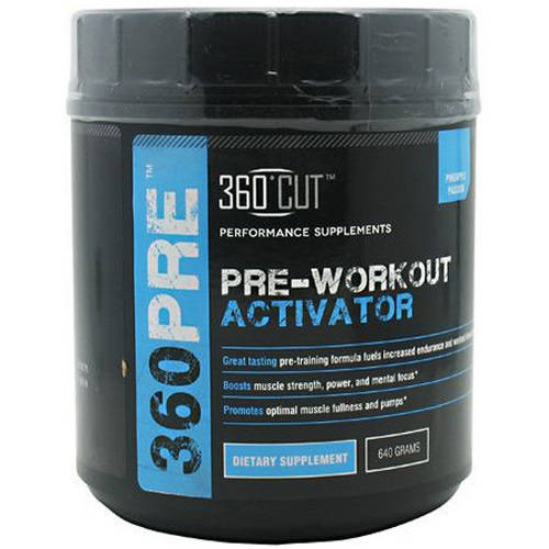 Image of 360 Cut Pre-Workout Activator, Pineapple, 40 CT
