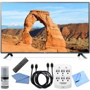 "LG 55LF6000 55"" 1080p 120Hz LED HDTV Hook-Up Bundle Includes HDTV, Screen Cleaning Kit, 2x 6 ft. HDMI to HDMI Cable, 6-Outlet Wall Tap with 2 USB Ports and Microfiber Cloth"