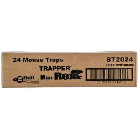 Trapper Mouse (Trapper Snap Traps Mice Mini T-rex 24 Traps )