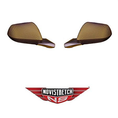 Mustang 6th Generation NoviStretch Mirror Bra Covers High Tech Stretch Mask Fits: All Mustangs 2015 and