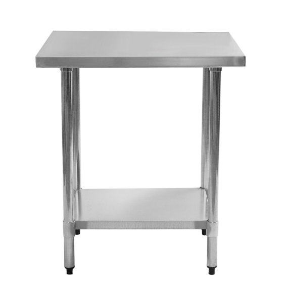 Gymax Commercial Kitchen Work Food Prep Table Stainless Steel ...