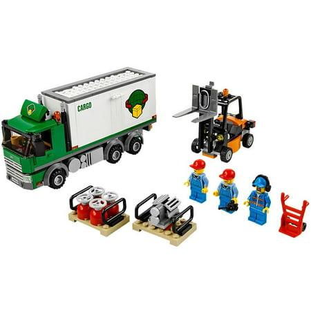 LEGO® CITY® Cargo Truck with 3 Minifigures, Forklift, & Handtruck   60020