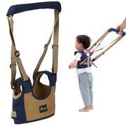 Baby Walking Assistant Toddler Walking Harness, 3D Breathablde Handheld Baby Walker,  Adjustable Baby Learning Walker Safe Keeper for Baby 6-24 Mouth