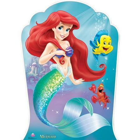 Disney Ariel & Friends Mermaid Princess Standup Standee Cardboard Cutout](Ariel Decorations)