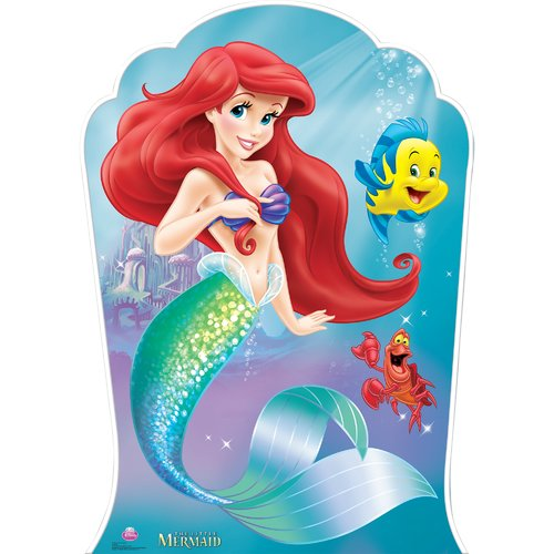 Advanced Graphics Ariel and Friends - Little Mermaid Cardboard Standup