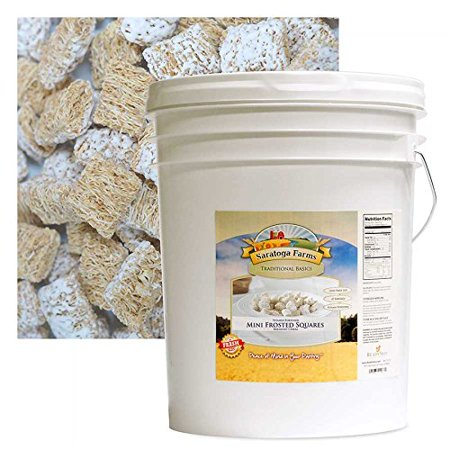 Mini Frosted Squares Cereal Bucket