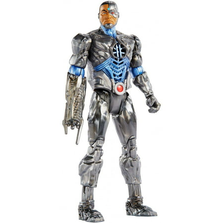 DC Justice League Talking Heroes Stealth Attack Cyborg