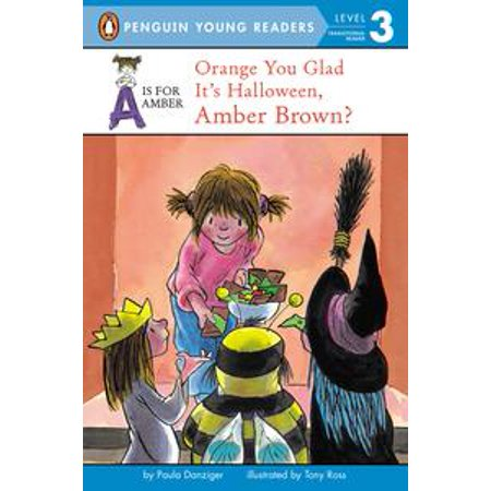 Orange You Glad It's Halloween, Amber Brown? - eBook - Best Friend Group Halloween Costumes