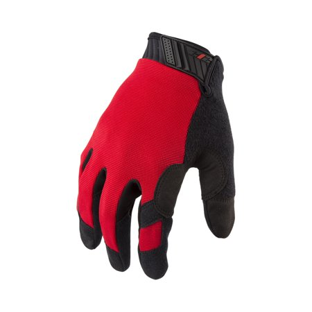 Ford Racing Mechanics Gloves - 212 Performance MCG-BL02-008 General Utility Mechanic Gloves in Red, Small