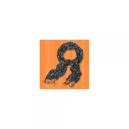SPOOKTACULAR BLACK HALLOWEEN SCARF (Spooktacular Halloween Words)