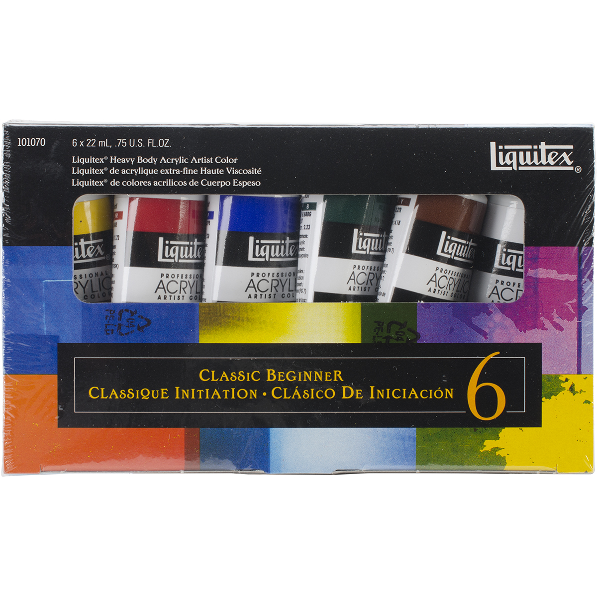 Liquitex Professional Heavy Body The Classic Beginner Set Multi-Colored