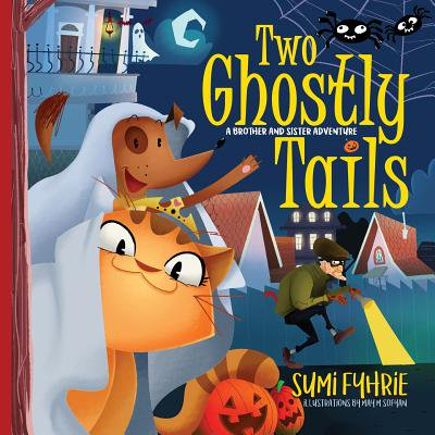 Brother and Sister Adventures: Two Ghostly Tails: A Simple Town Tale (Paperback)
