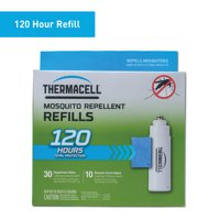 Thermacell Mosquito Repellent Refill with 30 Mats and 10 Cartridges