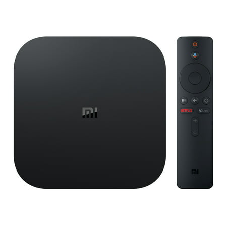 Xiaomi Mi Box S 4K HDR Android TV with Google Assistant Remote Streaming Media (Best Web Streaming Device)