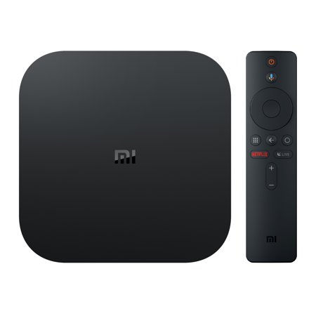 Xiaomi Mi Box S 4K HDR Android TV with Google Assistant Remote Streaming Media Player now with FREE $10 VUDU
