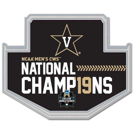 - Vanderbilt Commodores WinCraft 2019 NCAA Men's Baseball College World Series National Champions Collector Pin - No Size