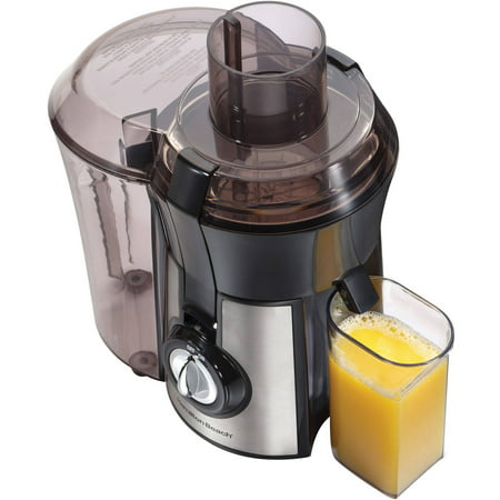 Hamilton Beach Stainless Steel Big Mouth Pro Juice Extractor | Model# 67608Z ()