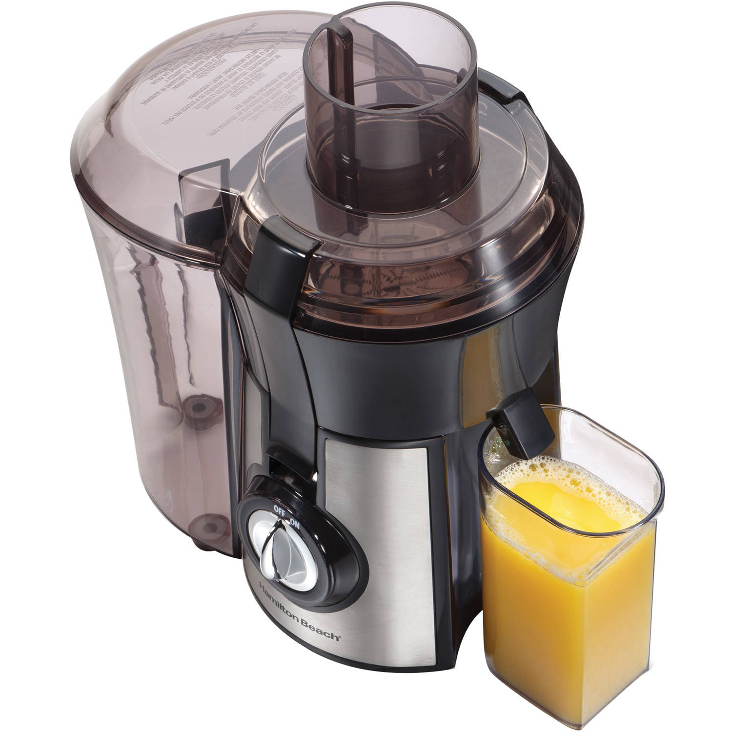 Hamilton Beach Stainless Steel Big Mouth Juice Extractor | Model# 67608Z