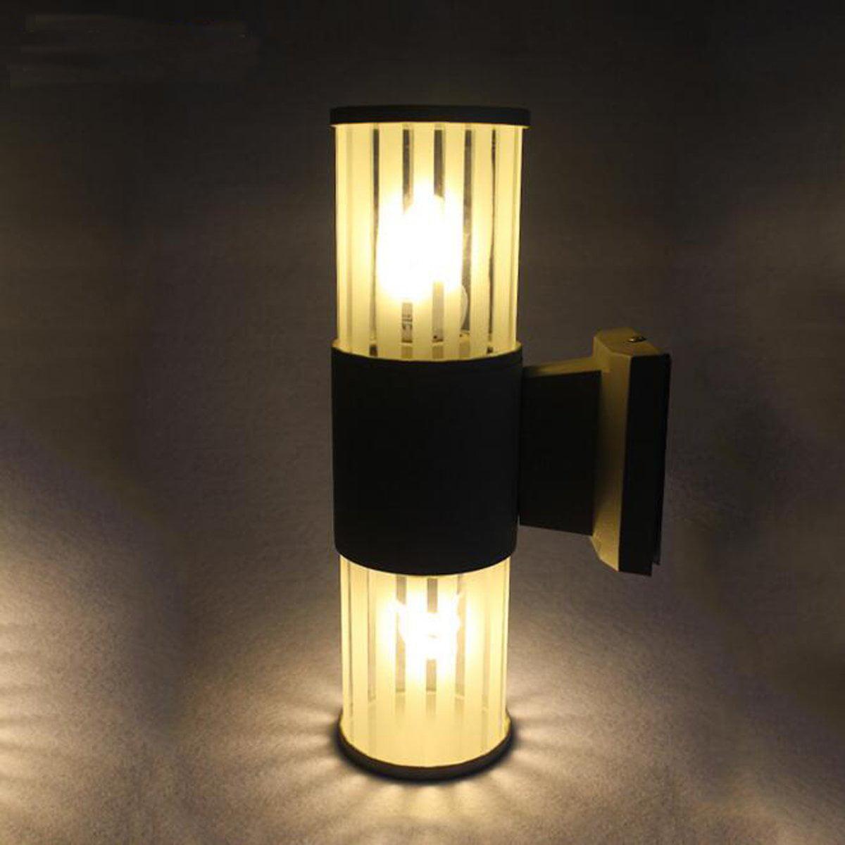 Modern up down led wall light lamp indoor outdoor sconce lighting lamp fixture for living room hallway bedroom lamps walmart com
