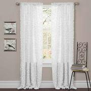 Stella White Window Curtain
