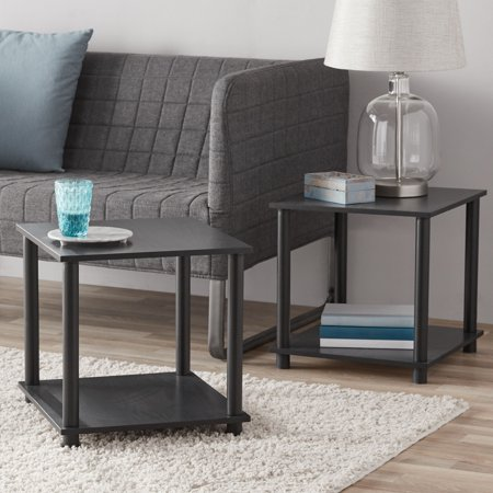 Mainstays-No-Tools-2-Pack-End-Table-Multiple Colors